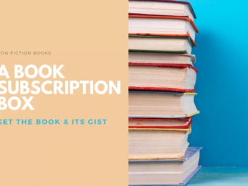 Non-Fiction Book Subscriptions with a Twist